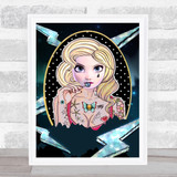 Bad Princess Range Elsa Wall Art Print