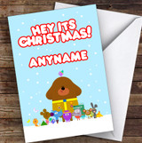Hey Duggee Hey Its Christmas Personalised Children's Christmas Card