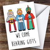Funny Corona Three Wise Men Lockdown Personalised Christmas Card