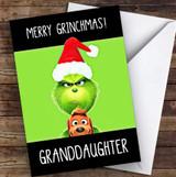 Granddaughter Grinchmas Personalised Christmas Card