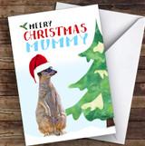 Mummy Meery Christmas Personalised Christmas Card