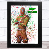 Splatter Art Gaming Fortnite Merry Marauder Kid's Room Children's Wall Art Print