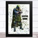 Splatter Art Gaming Fortnite Doctor Doom Kid's Room Children's Wall Art Print