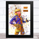 Splatter Art Gaming Fortnite Beef Boss Kid's Room Children's Wall Art Print