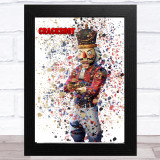 Splatter Art Gaming Fortnite Crackshot Kid's Room Children's Wall Art Print