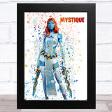 Splatter Art Gaming Fortnite Mystique Kid's Room Children's Wall Art Print