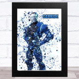 Splatter Art Gaming Fortnite Carbide Kid's Room Children's Wall Art Print