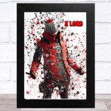Splatter Art Gaming Fortnite X Lord Kid's Room Children's Wall Art Print