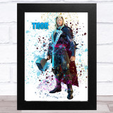 Splatter Art Gaming Fortnite Thor Kid's Room Children's Wall Art Print