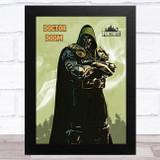 Doctor Doom Gaming Comic Style Kids Fortnite Skin Children's Wall Art Print
