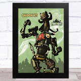 Shadow Kit Gaming Comic Style Kids Fortnite Skin Children's Wall Art Print