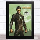Tony Stark Gaming Comic Style Kids Fortnite Skin Children's Wall Art Print