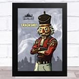 Crackshot Gaming Comic Style Kids Fortnite Skin Children's Wall Art Print