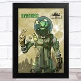 Leviathan Gaming Comic Style Kids Fortnite Skin Children's Wall Art Print