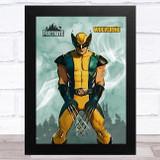 Wolverine Gaming Comic Style Kids Fortnite Skin Children's Wall Art Print