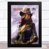 Calamity Gaming Comic Style Kids Fortnite Skin Children's Wall Art Print
