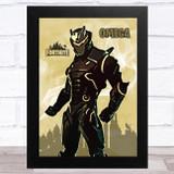 Omega Gaming Comic Style Kids Fortnite Skin Children's Wall Art Print