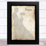 Chris Isaak Dancin' Man Lady Dancing Song Lyric Music Art Print