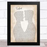 Fleetwood Mac Songbird Two Men Gay Couple Wedding Song Lyric Music Art Print