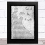 Rufus Wainwright Crumb By Crumb Grey Man Lady Dancing Song Lyric Music Art Print