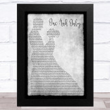 Koe Wetzel One And Only Grey Man Lady Dancing Song Lyric Music Art Print