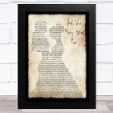 Bruno Mars Just The Way You Are Lesbian Couple Two Ladies Dancing Song Lyric Music Art Print