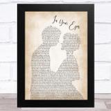 George Benson In Your Eyes Man Lady Bride Groom Wedding Song Lyric Music Art Print