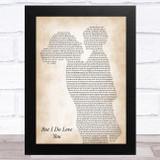LeAnn Rimes But I Do Love You Mother & Child Song Lyric Music Art Print