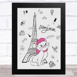 Marie The Aristocats Paris Children's Kids Wall Art Print