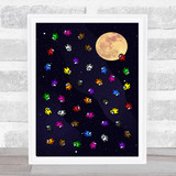 Among Us So Many In Space Children's Kids Wall Art Print