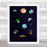 Among Us Pets Children's Kids Wall Art Print