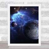 Celestial Collection Planets Space Design 4 Home Wall Art Print