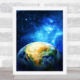 Celestial Collection Planets Space Design 5 Home Wall Art Print