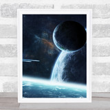 Celestial Collection Planets Space Design 6 Home Wall Art Print
