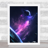 Celestial Collection Planets Space Design 7 Home Wall Art Print