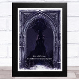 Gothic Woman Darkness Fatal Home Wall Art Print
