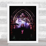 Fantasy Gothic Young Woman Home Wall Art Print