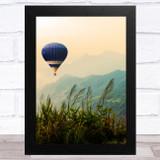 Hot Air Balloons Design 1 Home Wall Art Print
