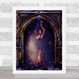Gothic Archway Ballerina Home Wall Art Print