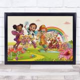 Butterbean's Café Children's Kid's Wall Art Print
