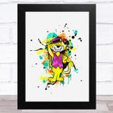 Top Cat Splatter Children's Kid's Wall Art Print