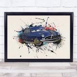 Cars Doc Hudson Children's Kid's Wall Art Print