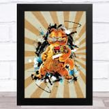 Garfield Retro Children's Kid's Wall Art Print