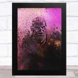 Thanos Purple Children's Kid's Wall Art Print