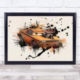 Cars Snotrod Children's Kid's Wall Art Print