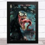 Venom Marvel Children's Kid's Wall Art Print
