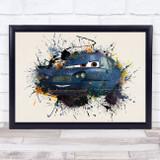 Cars Tomber Children's Kid's Wall Art Print