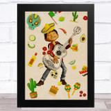 Coco Miguel Children's Kid's Wall Art Print