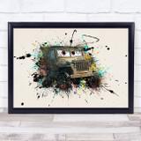 Cars Sarge Children's Kid's Wall Art Print