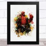 Hellboy Children's Kid's Wall Art Print